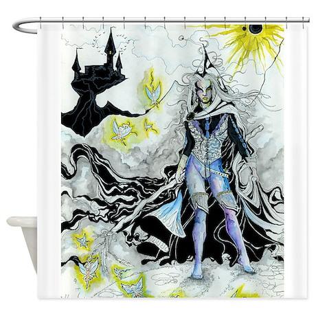 Elven Wizard Shower Curtain