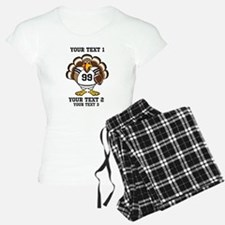 Custom Turkey Bowl Pajamas
