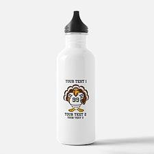 Custom Turkey Bowl Water Bottle