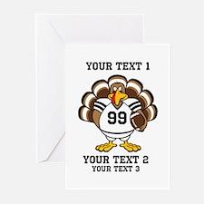 Custom Turkey Bowl Greeting Cards (Pk of 20)