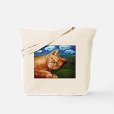 Cool Cat dreams Tote Bag
