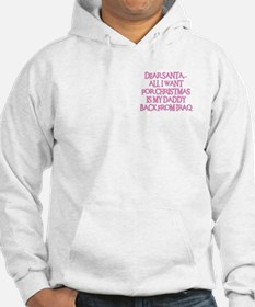 DADDY BACK FROM IRAQ Hoodie