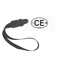 Cape Elizabeth ME - Oval Design. Luggage Tag