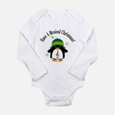 Musical Christmas Penguin Gift Long Sleeve Infant
