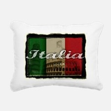 2-Italia.png Rectangular Canvas Pillow