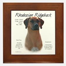 Ridgeback  Framed Tile