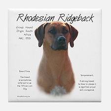Ridgeback Tile Coaster