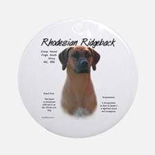 Ridgeback  Ornament (Round)