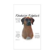Ridgeback Rectangle Decal