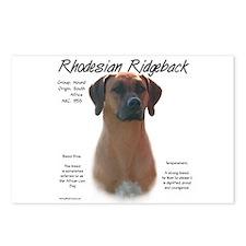 Ridgeback  Postcards (Package of 8)