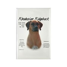 Ridgeback Rectangle Magnet