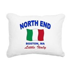 NORTH END.png Rectangular Canvas Pillow