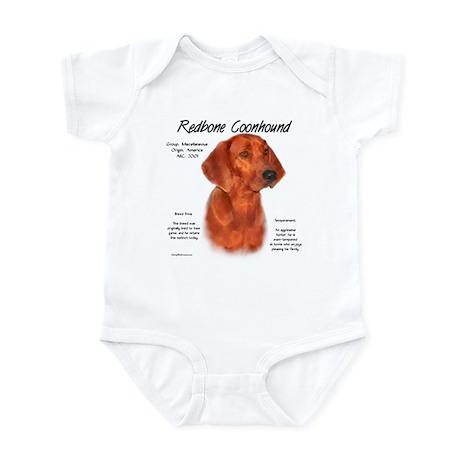 Redbone Coonhound Infant Creeper