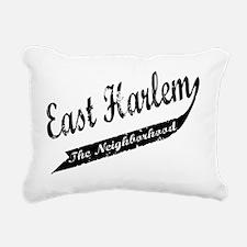 east harlem front.png Rectangular Canvas Pillow