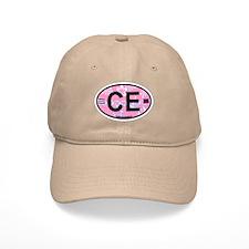 Baseball Cape Elizabeth ME - Oval Design. Baseball Cap