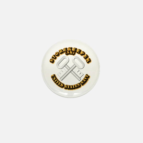 Navy - Rate - SK Mini Button