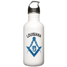 Louisiana Freemason Water Bottle