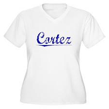 Cortez, Blue, Aged T-Shirt