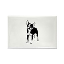 Chihuahua Dog design Rectangle Magnet