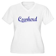 Cowherd, Blue, Aged T-Shirt