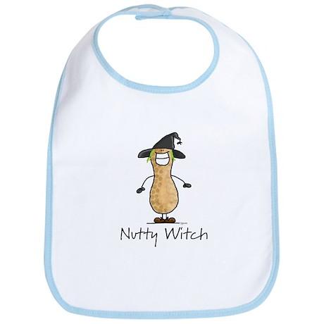 Nutty Witch Bib
