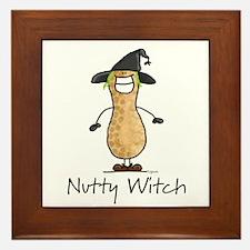 Nutty Witch Framed Tile