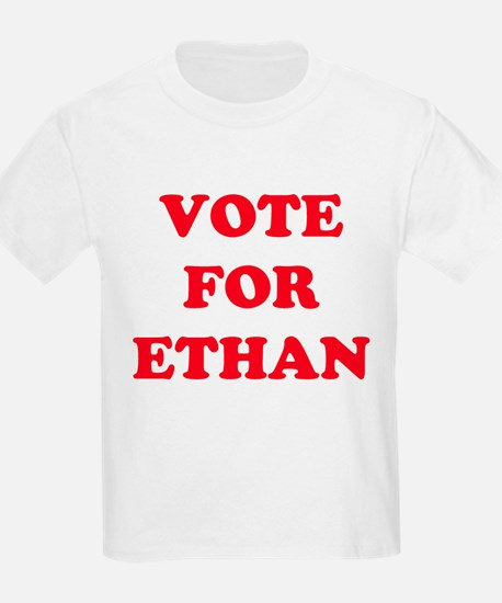 VOTE FOR ETHAN  Kids T-Shirt
