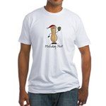 Holiday Nut Fitted T-Shirt
