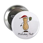 Holiday Nut Button
