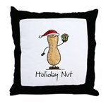 Holiday Nut Throw Pillow