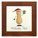 Holiday Nut Framed Tile