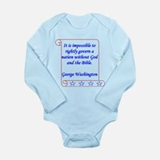 Impossible Long Sleeve Infant Bodysuit