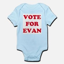 VOTE FOR EVAN  Infant Creeper