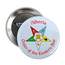 "Alberta Eastern Star button 2.25"" Button (100 pack"