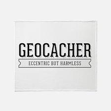 Geocacher - Eccentric but Harmless Throw Blanket