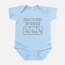 Pick Up Chicks Infant Bodysuit