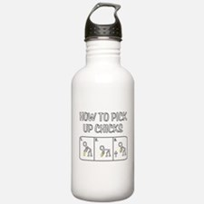 Pick Up Chicks Water Bottle