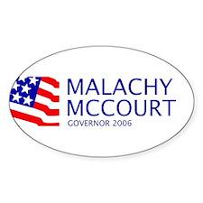 McCourt 06 Oval Decal