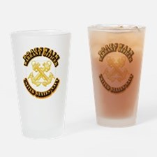 Navy - WO - Boatswain Drinking Glass