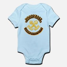 Navy - WO - Boatswain Infant Bodysuit