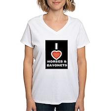 I heart horses and bayonets Shirt