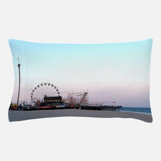 Seaside NJ Pillow Case