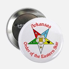 "Arkansas Eastern Star button 2.25"" Button"