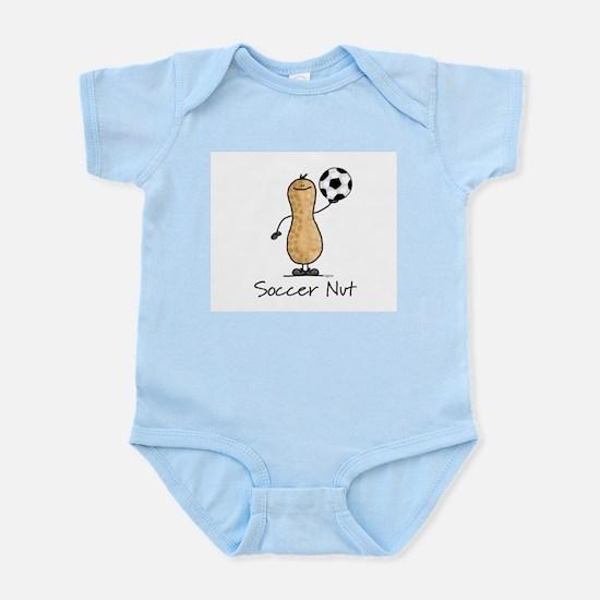 Soccer Nut Infant Creeper
