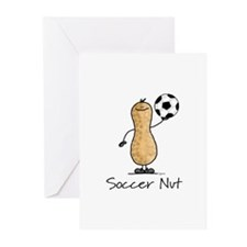 Soccer Nut Greeting Cards (Pk of 10)