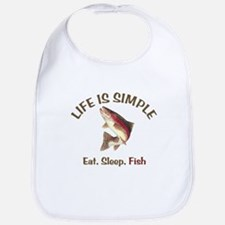Life is Simple Bib