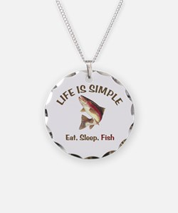 Life is Simple Necklace