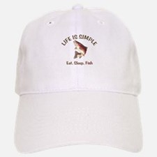 Life is Simple Baseball Baseball Cap