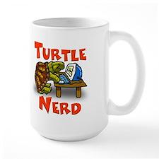 Large Turtle Nerd Mug