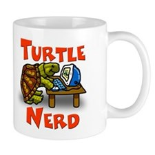 Turtle Nerd Mug